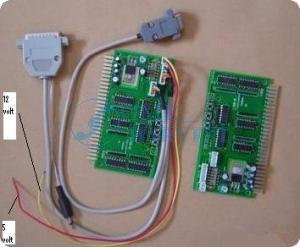 Imagen enviada indicando las tensiones para cada cable.